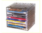 Case box for 8 single or 4 double cd