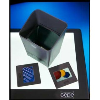 Slide viewer with Magnifier for lightbox Model G5004